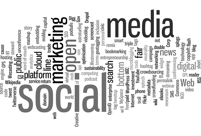 important words associated with social media marketing for generating product reviews